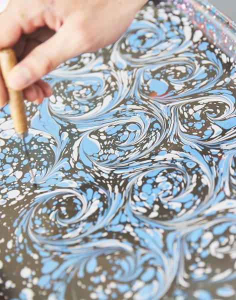 Paper Marbling with Paperwilds - One Day Intro by Paperwilds - crafts in London