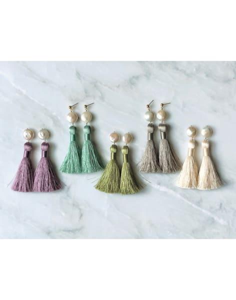 Tassel Earrings Workshop by Marissa Irwin Designs - crafts in London