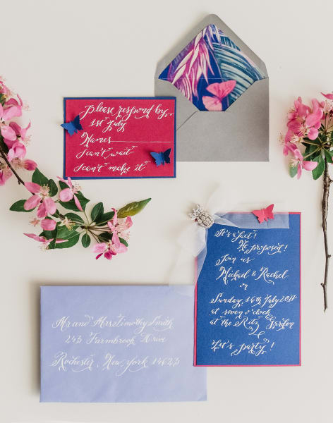 Wedding Modern Calligraphy Workshop for Beginners by Amalia Calligraphy - art in London