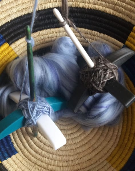 3D Printed Turkish Drop Spindle Workshop- Learn the mindful Craft of Spinning your own Yarn by EzzyStitch - crafts in London
