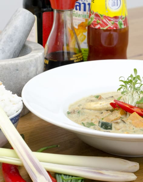 Authentic Thai Cooking  by Jenius Social  - food in London