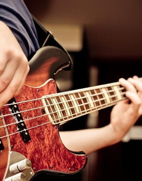 Bass Guitar Lessons for Any Level by Marie De Bry Arts Academy - music in London