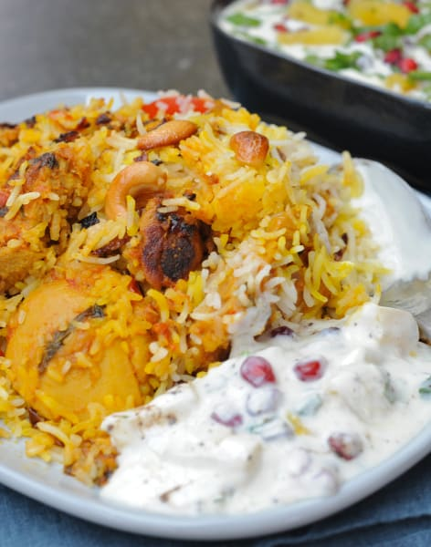 Chicken Biryani Masterclass by Meri Rasoi - food in London