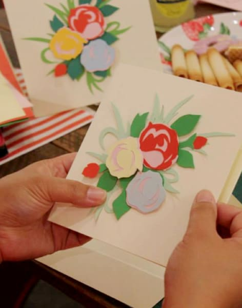 Paper Cutting Art Class by Tea & Crafting - crafts in London