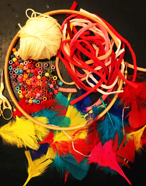 Make a Dreamcatcher by Chap and Darling - crafts in London