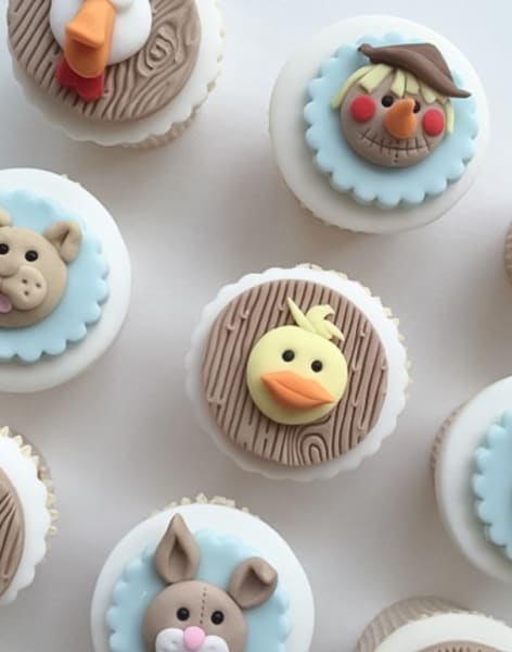 Farm Yard Animal Cupcake Class by Lady Berry Cupcakes - food in London