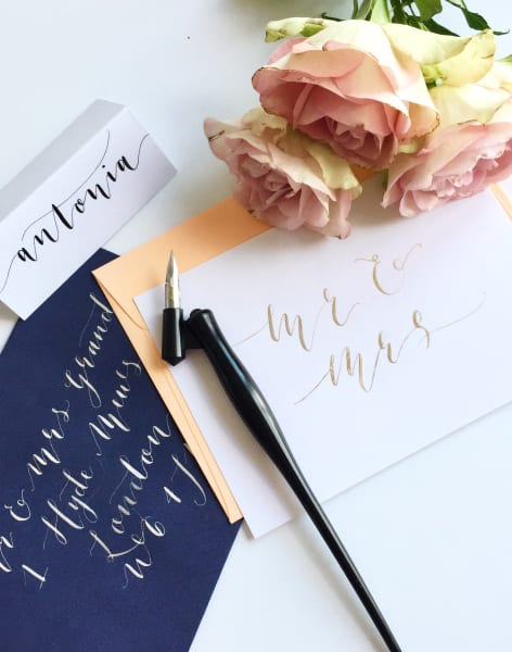 Modern Calligraphy for Improvers by London Calligraphy - art in London