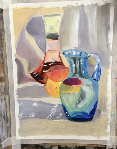 Oils Painting and Drawing Course for Beginners by Richmond School of Painting - art in London
