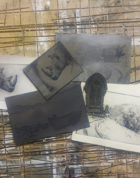Introduction to etching and intaglio Printmaking by Christopher A E  Gray Fine Art - art in London