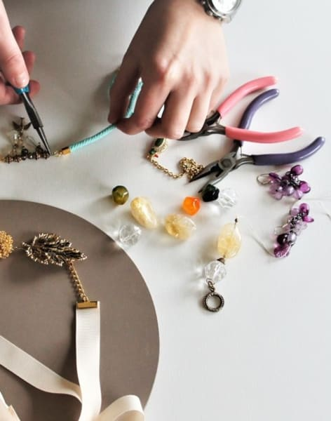 Turn old jewellery into modern treasures by Maiden Aunt - crafts in London