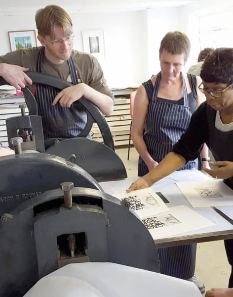 Photo Etching One-Day Class by Thames-Side Print Studio - art in London