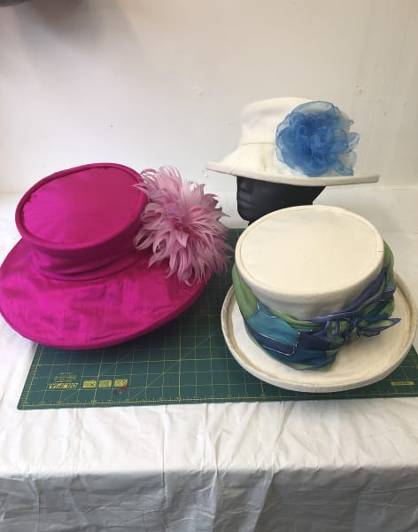 Sew an Occasion Hat in a Day by Strawberry Hill Hats - crafts in London