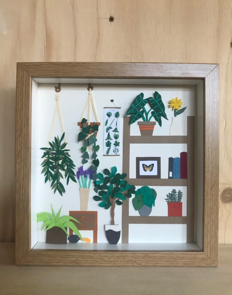 Botanical Paper Cutting Workshop by Silvina De Vita - My Papercut Forest - crafts in London