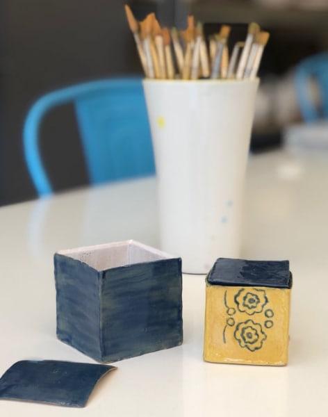 Ceramic Box Making Workshop by Arty Club - art in London