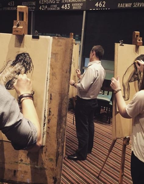 Drink and Draw - Life Drawing Class in Ladbroke Grove by The Merry Nude - art in London