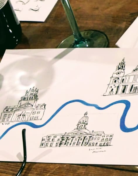 Make Your Own Illustrated Maps of London - for Beginners! by M.Y.O (Make Your Own) - art in London
