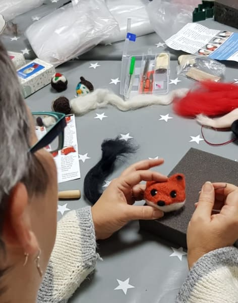Needle Felting Workshop by Craft My Day - crafts in London