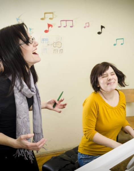 Beginners Piano Lessons by Sandra Kos - music in London