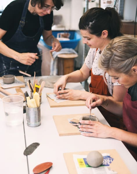 Make a Breakfast Set Weekend Ceramic Course by F V / Ceramics Studio - art in London