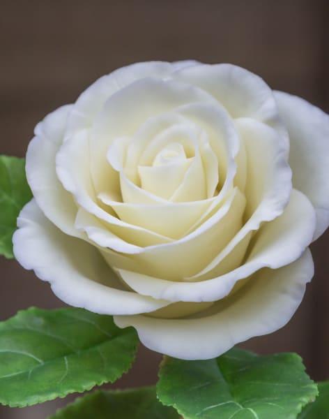 Make a Clay Rose by Polymer flowers by Tatiana Godunova - art in London
