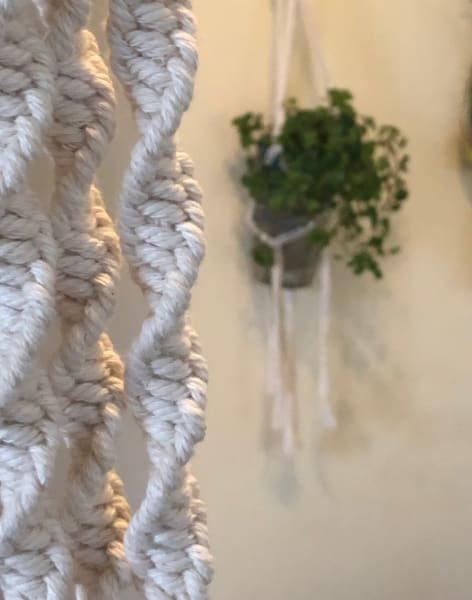 Beginners Macrame Workshop - Make your own plant hanger to decorate your room with or as a gift by Makings and Musings - crafts in London