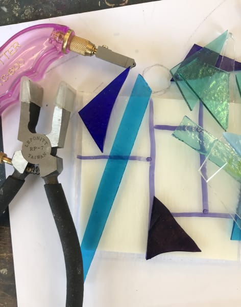 Fused Glass by Nadine Mahoney - crafts in London