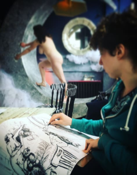 General Sunday Daytime Life Drawing Class Waterloo by London Drawing - art in London