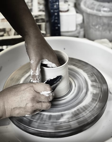 Beginner Pottery Throwing Course by Edit Juhasz Ceramics - art in London