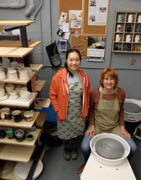 Pottery on the Wheel - Tuesday Evening by Clover & Emilia Pottery - art in London