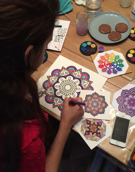 Mandala Painting Class by UbieDesign - art in London