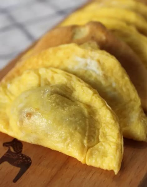 Egg Skin Dumpling by Oriental Food - food in London
