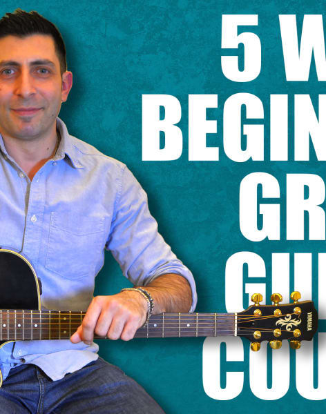 5 Week Stress Free Group Guitar Course by Alex Bonanno Guitar Lessons - music in London
