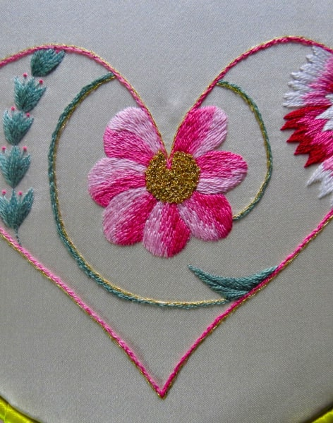 Introduction to hand embroidery with Bella Lane  by Fabrications - crafts in London