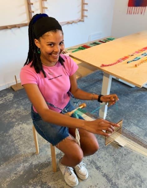 Beginners Backstrap Weaving  by The London Loom - crafts in London