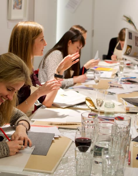 Art Workshops with Food & Wine by Social Studio London - art in London