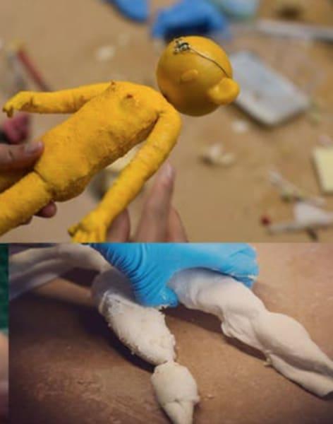 Stop Motion Animation, Foam & Latex Puppet Building Workshop by Ctrl+ART+Dlt - art in London
