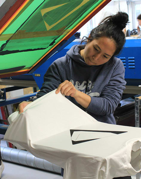 Beginners T-Shirt Screen Printing Workshop by 3rd Rail Print Space - art in London