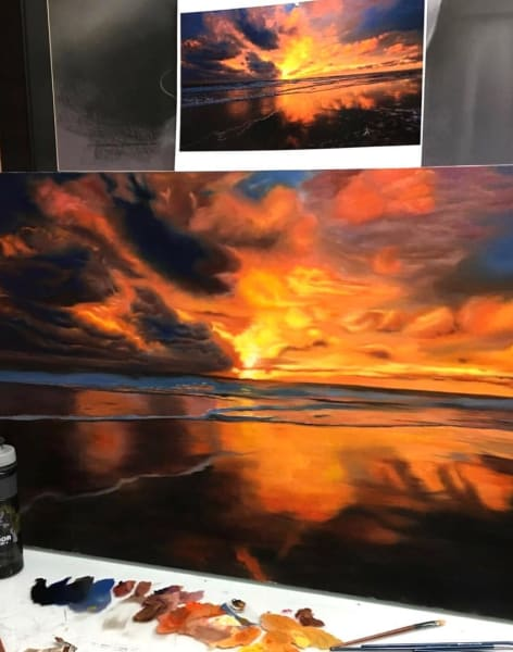 Oil and Acrylic Painting (Fast Learning Workshop) by ArtistsFloor - art in London