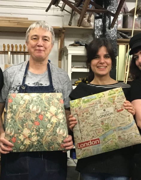 Upholstery Taster Weekend by The School of Stuff - crafts in London