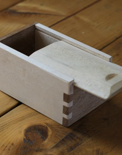 Make a Dovetail Joint Box by The Green Wood Guild - crafts in London
