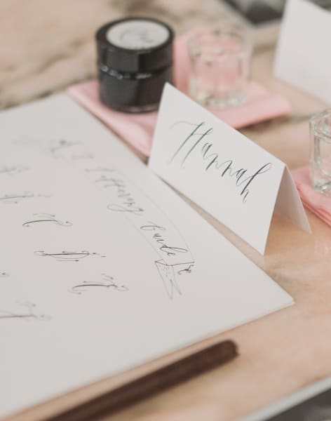 Modern Calligraphy with Alice Gabb by Alice Gabb - art in London