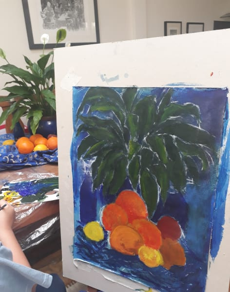 Introductory Lino and Still Life Workshops by CreARTS - art in London