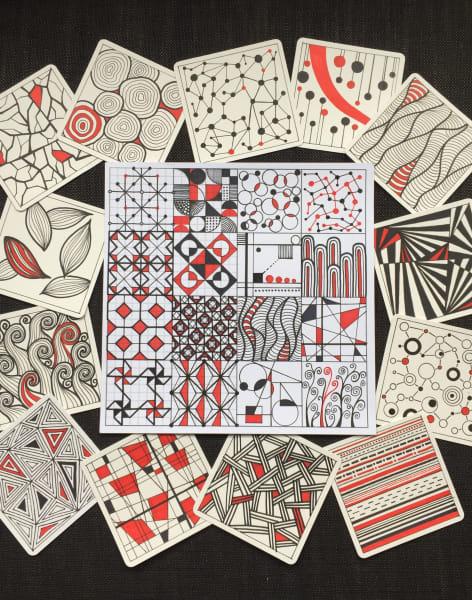 Mindful Pattern Design Class by UbieDesign - art in London