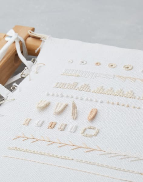 Beginners Whitework Embroidery with Aimee Betts by Stag and Bow - crafts in London