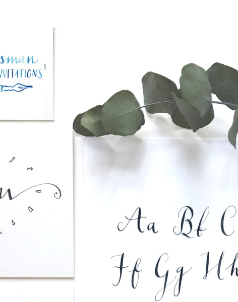 Modern Calligraphy for Beginners by M.Y.O (Make Your Own) - art in London