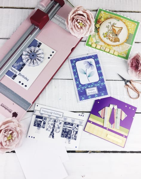 Sarah's Saturday Cardmaking and Paper Crafting  by Crafty Arts - crafts in London