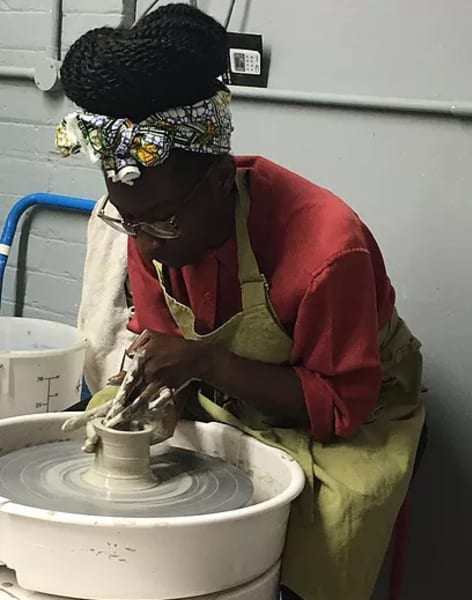 One Day Throwing Class by Clover & Emilia Pottery - art in London