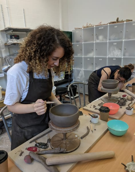 Six Week Pottery Course for Beginners. by Odile Cadiot - art in London
