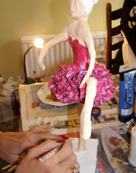Papier Mache Sculpture Session by Driftwood Dreams - crafts in London