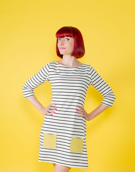 Make a Coco Knit Top or Dress by Suzie London - crafts in London